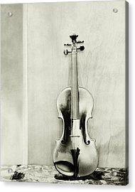 A Violin Acrylic Print by Edward Steichen