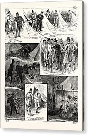 A Visit To The London Scottish Camp At Wimbledon Acrylic Print