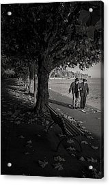 Acrylic Print featuring the photograph A Walk In The Park by Antonio Jorge Nunes