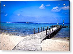 Acrylic Print featuring the photograph A Walk Into Blue by Phil Abrams