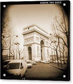 A Walk Through Paris 2 Acrylic Print by Mike McGlothlen