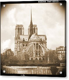 A Walk Through Paris 25 Acrylic Print by Mike McGlothlen