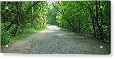 A Walk Through Rosedale Acrylic Print by Eric Dewar
