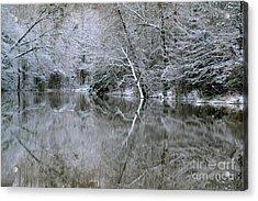Frozen Reflections Acrylic Print