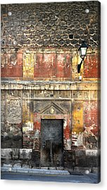 A Wall In Decay Acrylic Print by RicardMN Photography
