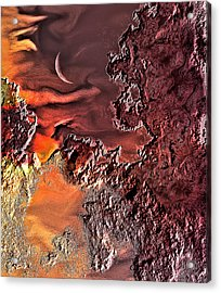Warmer Crescent Phase Acrylic Print