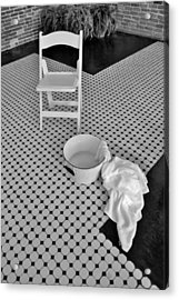A Washing Of The Feet Acrylic Print by Bob Sample