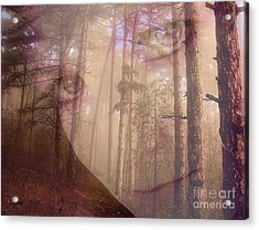 A Watchful Forest Acrylic Print