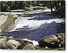 Acrylic Print featuring the photograph A Water Slide by Brian Williamson