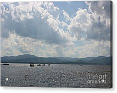 A Weekend On The Water Acrylic Print