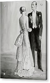 A Well-dressed Couple Acrylic Print