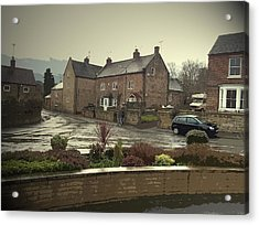 A Wet Afternoon In Little Eaton,  A Wet Afternoon In Little Acrylic Print