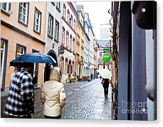 A Wet Walk Acrylic Print