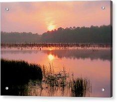 A Wetlands Sunrise Acrylic Print