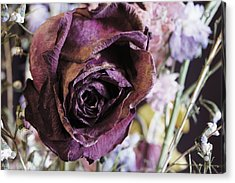 A Wilted Bouquet Acrylic Print by Angi Parks