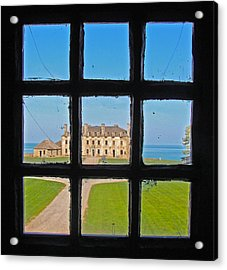 A Window To The Past Acrylic Print by Kathleen Scanlan