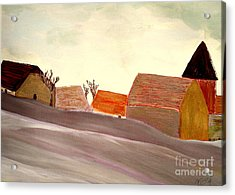 A Winter Morning Acrylic Print by Bill OConnor