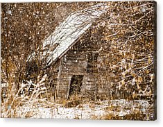 A Winter Shed Acrylic Print