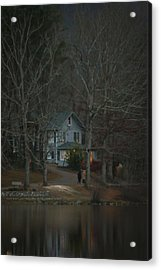 A Winter Walk Acrylic Print by Tammy Schneider
