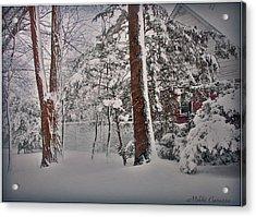 A Winter Wonderland Acrylic Print by Mikki Cucuzzo