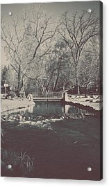 A Winter's Tale Acrylic Print by Laurie Search