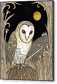 A Wise One Waits Acrylic Print by Anita Inverarity