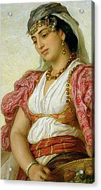 A Woman From Algiers Acrylic Print