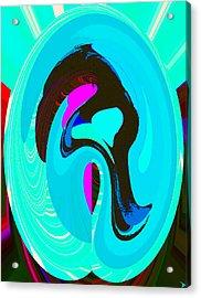 A Womans Heart Acrylic Print by David Lee Thompson