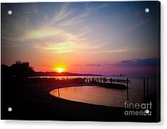 A Yorktown Sunset Acrylic Print