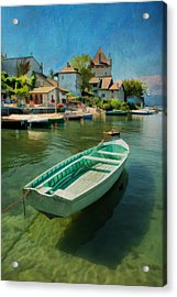 A Yvoire - France Acrylic Print by Jean-Pierre Ducondi