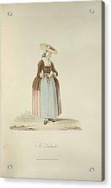 A Zealander Acrylic Print by British Library