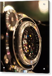 A Zeiss Christmas Acrylic Print by Aaron Aldrich