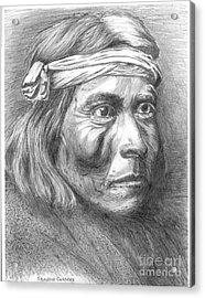 Shadow Catcher, A Zuni Governor Acrylic Print