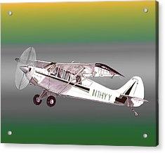 A1a Husky Aviat Airplane Acrylic Print by Jack Pumphrey