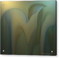 Ab-www-3 Acrylic Print by Ines Garay-Colomba