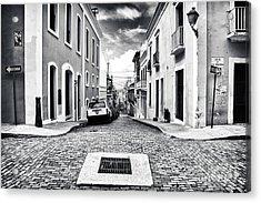 Abajo De La Calle Acrylic Print by John Rizzuto