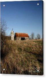 Abandon Barn Acrylic Print
