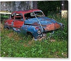 Abandoned 1950 Mercury Monteray Buick Acrylic Print