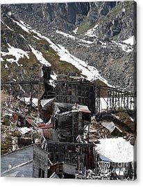Abandoned Alaskan Gold Mine Acrylic Print by Dani Abbott