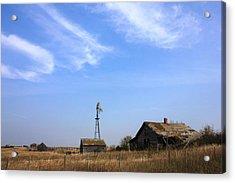 Abandoned Alberta Prairie Home Acrylic Print