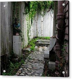 Abandoned Alley Acrylic Print