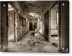 Abandoned Asylums - What Has Become Acrylic Print