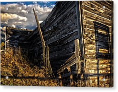 Acrylic Print featuring the photograph Abandoned Building Fort Steele by Rob Tullis