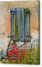 Abandoned Building Acrylic Print by Patricia Hofmeester