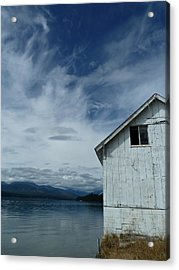 Abandoned By The Water Acrylic Print by Patricia Strand