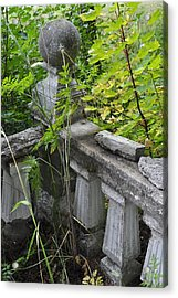 Acrylic Print featuring the photograph Abandoned Cemetery by Cathy Mahnke