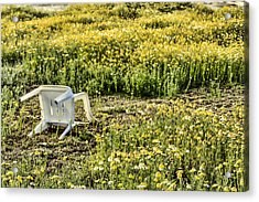 Abandoned Chair Acrylic Print