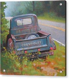 Abandoned Chevy Acrylic Print