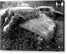Abandoned Chevys Acrylic Print