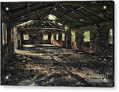 Abandoned Acrylic Print by Amanda Elwell